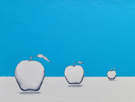 The Incredible Flying Blue Apples
